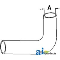 166288A - Radiator Hose, Upper