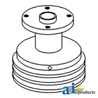 168766A - Pulley, Water Pump