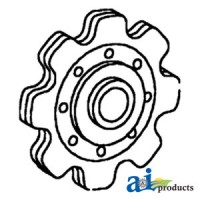 176283C91 - Sprocket, Lower Idler