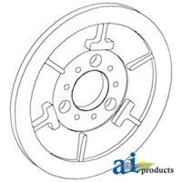 188848C1 - Pulley Assy, Rotor Drive, Stationary
