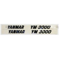 S.23113 Decal- Yanmar Ym3000