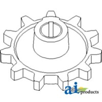 2412960W1 - Sprocket, Clean Grain Elevator, Upper