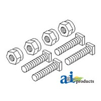 """26A1-B - Battery Bolts & Nuts, Square Head, 5/16"""""""