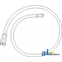 """26A164 - Cable, Battery to Starter, 65"""", 2 Ga."""