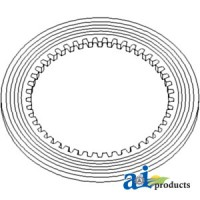 2757328M1 - Friction Disc, Interial Spline