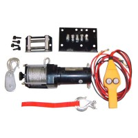 3013-0004 - 2500lb Winch Set With Handle Control