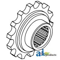 303143856 - Coupler Sprocket, Front