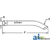 34219-12410 - Extension Pipe