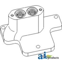 398316R1 - Valve, Control End Cover