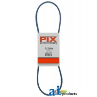 "3L360K - Kevlar Blue V-Belt (3/8"" X 36"" )"