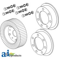 "4010048 - Wheel, 4"" X 8"" Tail Rim Assembly"