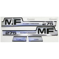 S.42852 Decal Kit, Mf 275, Hood