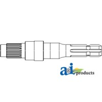 4348177 - Shaft, PTO 540 RPM