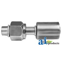 461-3002 - Straight Female O-Ring Aluminum Beadlock Fittings
