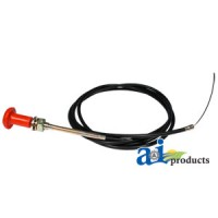 "47V1534 - Cable, Round Handle Pull (82"")"