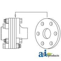 "51A2105 - Torsion Disc, 6"" O.D."