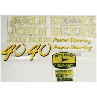 S.52704 Decal Kit, Jd 40 Gas