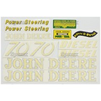 S.52708 Decal Kit, Jd 70 Diesel