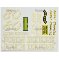 S.52709 Decal Kit, Jd 80 Diesel
