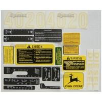 S.52711 Decal Kit, Jd 4020