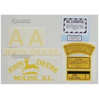 S.52713 Decal, Kit Jd A - Clear