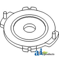 537120R1 - Plate Stop, Primary Brake (LH)
