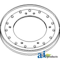 566516R92 - Pulley, Straw Spreader & Shaker Shaft, Drive