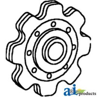 573399 - Sprocket, Lower Idler Gathering Chain