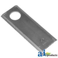58372000 - Blade, Disc Mower, Beveled, Double Edge
