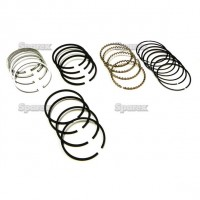 S.60857 Ring Set, 4 Pc, Overbore