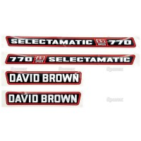 S.63342 Decals Db 770 Selectamatic -