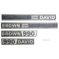 S.63345 Decal Kit, Db, 990, Selectamatic