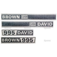 S.63346 Decals Db 995 Selectamatic