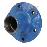 S.65124 Hub Assembly, Front Less Cups & Bearings