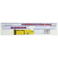 S.66687 Decal Kit, 3000 68-75 Gas