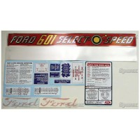 S.66881 Decal Kit 601 Select-O-Speed