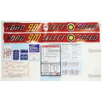 S.66883 Decal Kit 901 Select-O-Speed