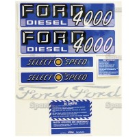 S.66885 Decal Kit 4000 Diesel S.O.S.