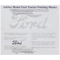 S.67163 Painting Mask, Ford Script, Jubilee
