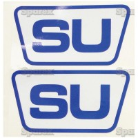 S.67554 Decal Set, Su Blue/White