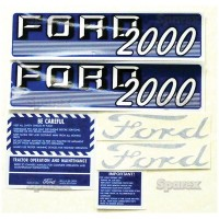 S.67695 Decal Kit, Complete, 2000g 62/64