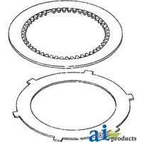 68802C91 - PTO Clutch Disc Kit, Consist Of:
