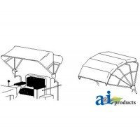6A235 - Replacement Cover, 3 Bow (48) Yellow