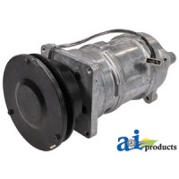 70272976 - Compressor, New, A6 w/ Clutch (1 groove 5.58 pulley,