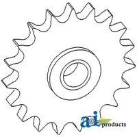 71128926 - Sprocket, Tightener