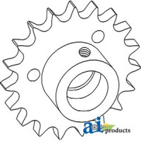 71182337 - Sprocket, Beater Drive