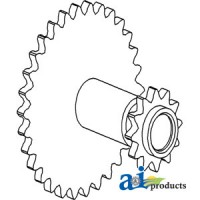 71194503 - Sprocket, Idler Thresher Area
