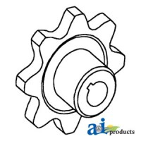 71195866 - Sprocket, Grain Elevator, Upper