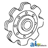 71359125 - Sprocket, Lower Gathering Idler