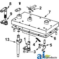 71526KIT - Kit, Duckfoot & Lever w/ Hardware